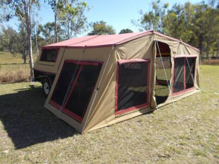 Large Off-road Camper Trailer - Great family camper!!! Sexton Gympie Area Preview