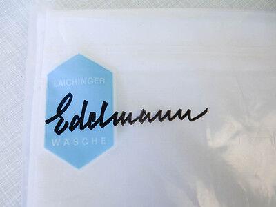 2 x Bettwäsche von Edelmann/Laichingen - DAMAST-MAKO-Baumwolle - 80/80+150/250cm