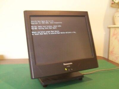 Panasonic Js960ws Js-960wp Pos Terminal W Card Reader Thumb Finger P.supply
