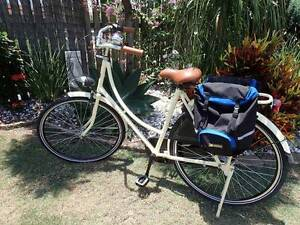 Ladies retro style Dutch bicycle. With side storage bags Bargara Bundaberg City Preview
