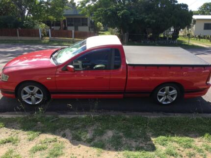 BA XR 6 Ute Lissner Charters Towers Area Preview
