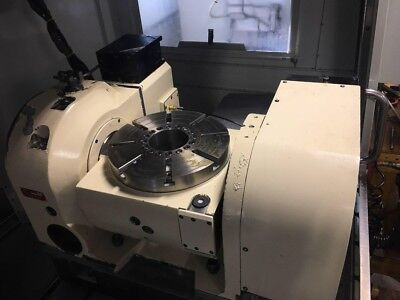 2014 Tsudakoma Tn-320 5th Axis Trunnion Table Ref 7792465