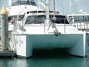 1998 10.5m Simpson Catamaran 30hp Kubota Diesel and 9.9hp Yamaha Pialba Fraser Coast Preview