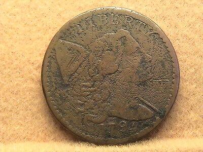1794 Liberty Cap Large Cent.