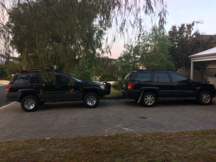 2x v8 jeep cherokees for swap or sell