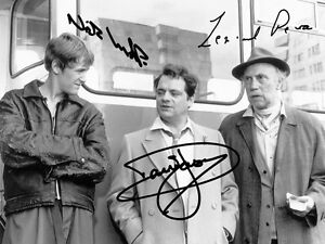 Only Fools And Horses Signed & Mounted, Autograph Photo Print Del Boy & Rodney