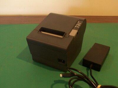 Refurbished Epson Tm-t88v Printer M244a W P.supply Par Micros Ncr Toshiba Pos