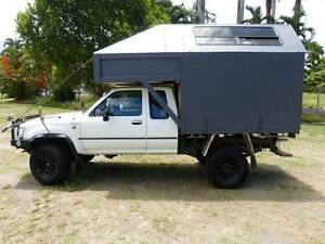 Toyota Hilux slide on camper campervan motorhome camping van 4x4 Sydney City Inner Sydney Preview