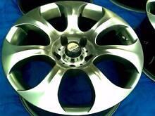 17x8 BMW 5 SERIES 5 ZIGEN TEAM RACING SATIN SILVER RIMS.,ET 13 Auburn Auburn Area Preview