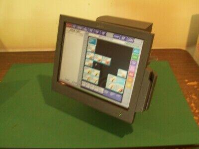 Ibm 4852-e66 4852-566 Pos Terminal W Card Reader And Thumb Reader Toshiba
