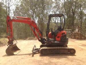 Excavator Kubota U35 Super Series Gympie Gympie Area Preview