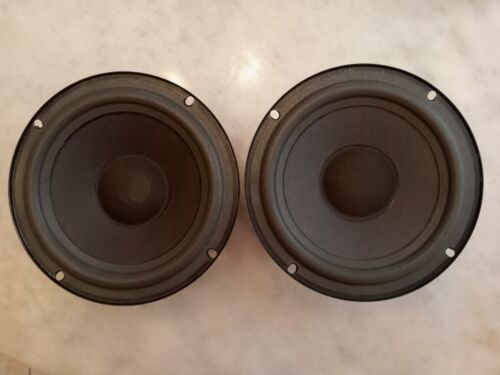 "Pair Advent 6.5"" woofers, new foam surround! 8 ohm vintage laureate Replacement"