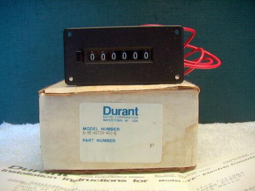 DURANT ANALOG COUNTER 6-YE-40724-401-Q NEW IN ORIGINAL BOX!