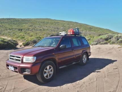 Nissan Pathfinder Ti V6 - now 4000$ - Backpacker car