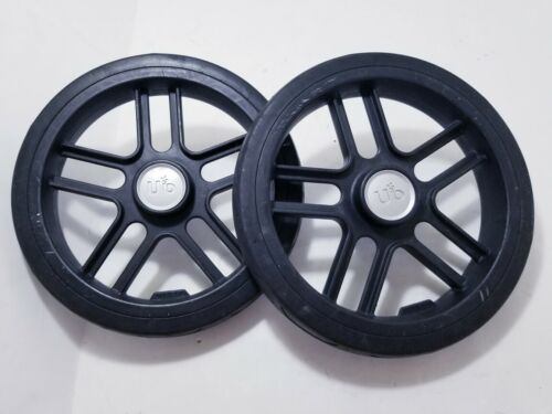 Pair of 2 UPPAbaby Vista Stroller REAR Wheels Replacement 2012 Tire