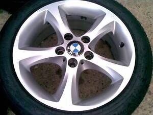 BMW 1 SERIES 17X7 GENUINE STYLE 142 RIMS AND TYRES %80 TREAD Lidcombe Auburn Area Preview