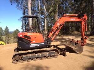 Excavator Kubota U45 Gympie Gympie Area Preview