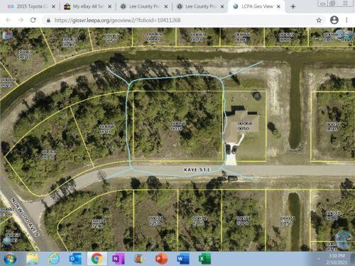 LEHIGH  ACRES, FLORIDA -  Double Lot