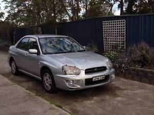 2004 Subaru Impreza Sedan Marmong Point Lake Macquarie Area Preview