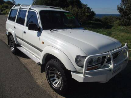 1993 Toyota LandCruiser 8 SEATER, 6 MONTHS REGO Redhead Lake Macquarie Area Preview