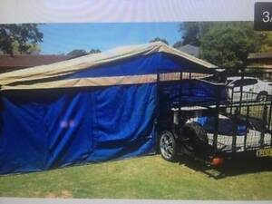 Custom camper trailer with huge rear storage. Collaroy Manly Area Preview