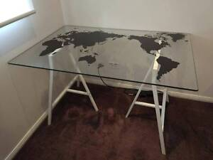 Ikea world map desk plus chair Ferntree Gully Knox Area Preview