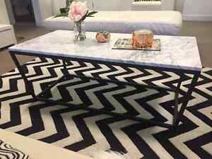 Italian white marble coffee table Alexandria Inner Sydney Preview