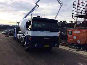 Concrete Truck with Barrell include exhaust  catalytic convert Greenacre Bankstown Area Preview