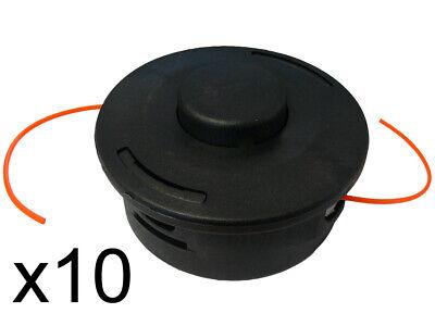 PACK OF 10 AUTOCUT 25-2 STRIMMER HEADS FITS STIHL FS55, FS56, FS70, FS80, FS87