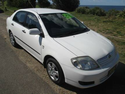 2006 Toyota Corolla MANUAL 186K 6 MONTHS REGO Redhead Lake Macquarie Area Preview