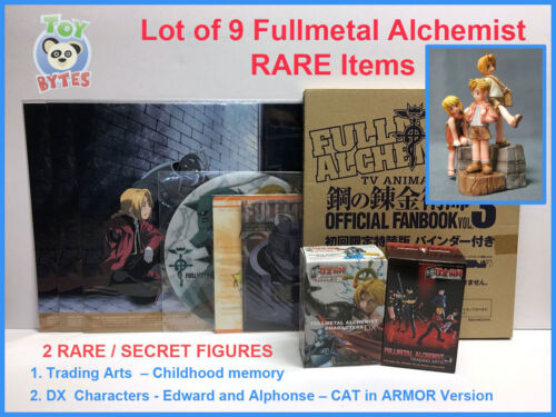 Fullmetal Alchemist Trading Arts Childhood DX chase FIGURE Poster Lot not Funko