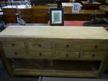 New Rustic Recycled 8 Draw Buffet Sideboard Storage Melbourne CBD Melbourne City Preview