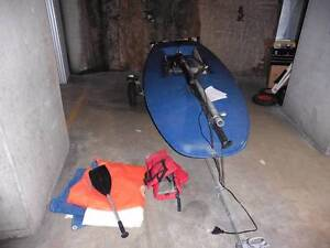 Cartopper Topper sailing dinghy and trundle trolley Sydney City Inner Sydney Preview