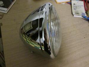 Harley Flathead Knucklehead Panhead Chrome Cycleray Headlight