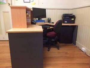Large Office Reception desk - L-shaped Armidale Armidale City Preview