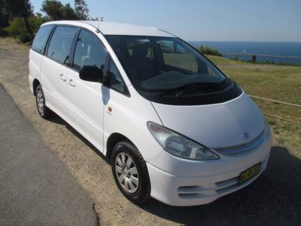 2000 Toyota Tarago AUTO 8 SEATER 213K MARCH REGO Redhead Lake Macquarie Area Preview