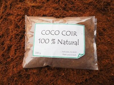 - Coco Coir Fiber Soil Plant Seed Starter Hydroponic Growing Coconut Peat Natural