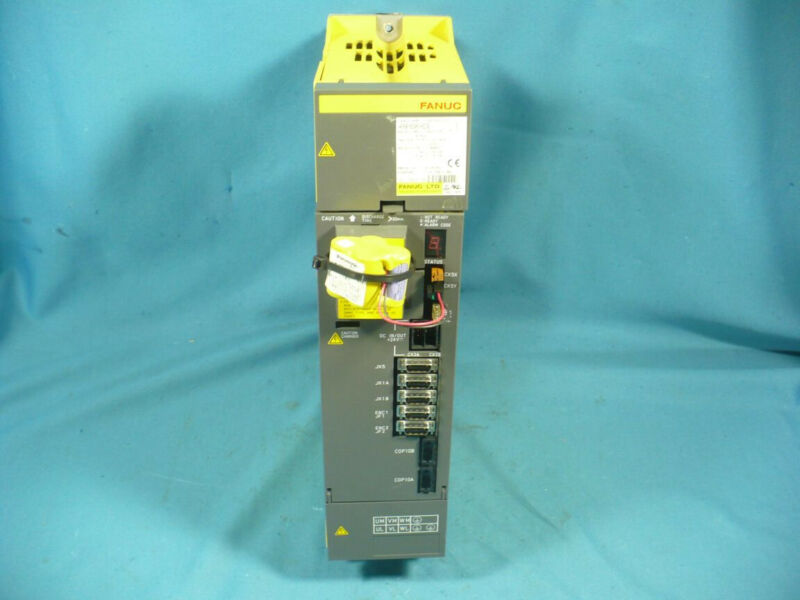 GE Fanuc A06B-6096-H208 Servo Amplifier Module Motor Drive Hardinge QC Works