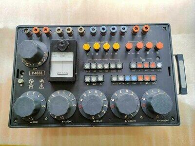 100mkohm-1000kohm 0.1 P4833 Bridge Impendence Meter Resistance Standard Box