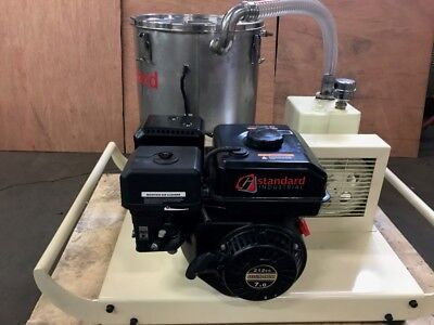 NEW SCREW VACUUM PUMP-  ELECTRIC MOTOR-  10 HP