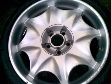 18x8 BBS/TGF MERCEDES,AUDI LUXURY RIMS AND TYRES..PCD 5X112 Auburn Auburn Area Preview