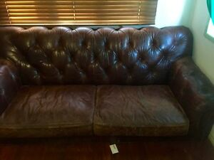 Leather Chesterfield Darra Brisbane South West Preview