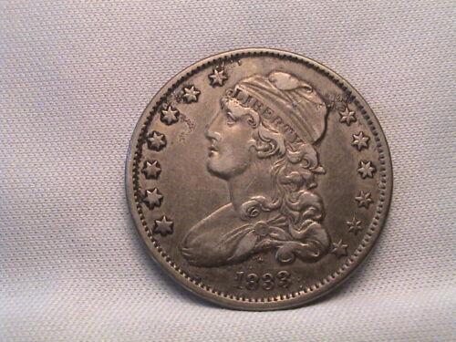 1833  Capped Bust Quarter  B-1 R2