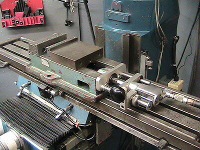 Bridgeport Or Import Milling Machine Pnuematic Vise Attachment Time Saver
