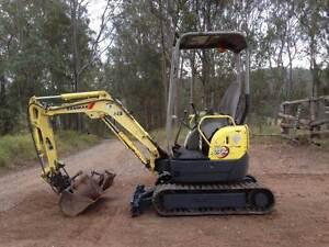 Excavator Yanmar VIO15 Gympie Gympie Area Preview