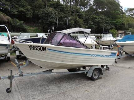 Stacer 400 Runabout - 30 HP Outboard