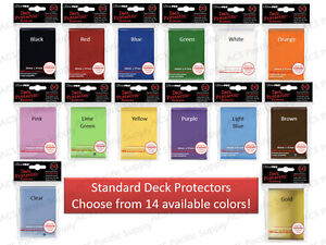300-ULTRA-PRO-DECK-PROTECTORS-SLEEVES-LOT-Standard-MTG-6-Pks-Mix-Match-Colors
