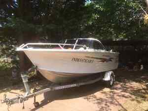 2003 Quintrex Freedom Sport  475 PRICE DROP motor boat Speed boat Kingston Kingborough Area Preview