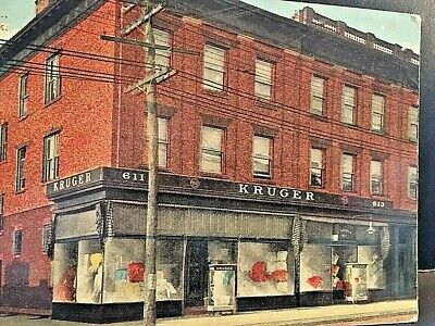Postcard Antique View of Kruger Department Store, West New York, NJ.  - Nj W9
