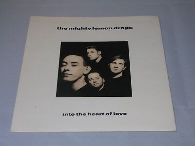 Mighty Lemon Drops:  Into the Heart of Love  1989  EX+  UK   7
